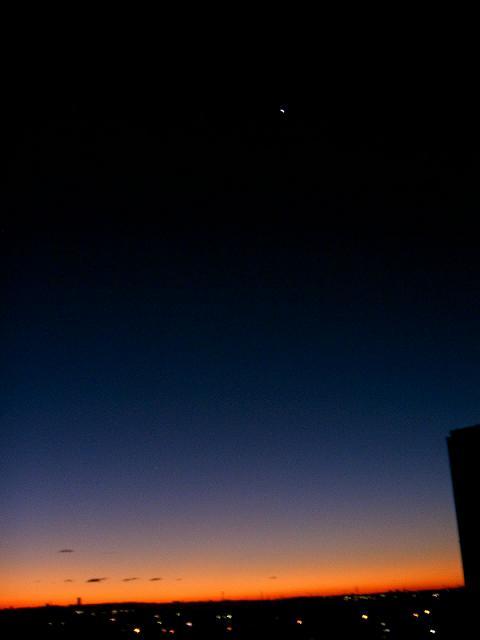 夜明けの明星